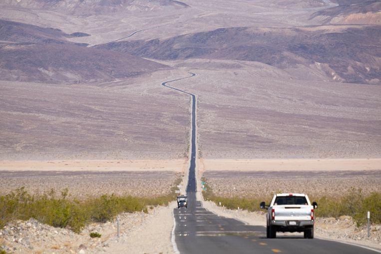 Death Valley in Californië is in de zomer een van de heetste plekken op aarde. Met aanhoudende klimaatsveranderingen is het best mogelijk dat de temperaturen nog zullen stijgen deze zomer. Beeld Eline van Nes