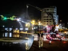 Grote zoekactie naar mogelijke drenkeling in de Rijn bij Arnhem levert niets op
