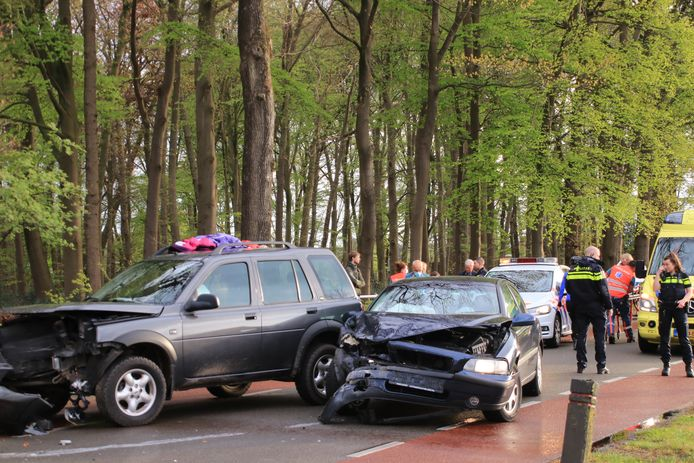 Ongeluk in Kootwijkerbroek