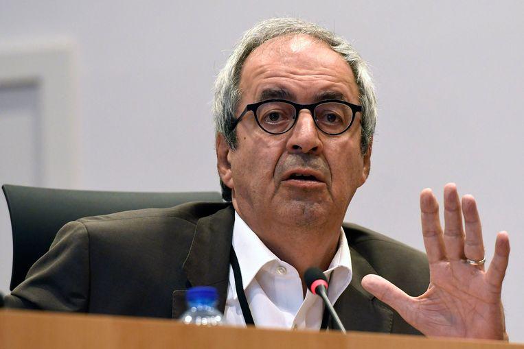 Commissievoorzitter Dirk Van der Maelen (sp.a) Beeld Photo News