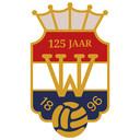 Het speciale logo van Willem II vanwege het 125-jarig bestaan.