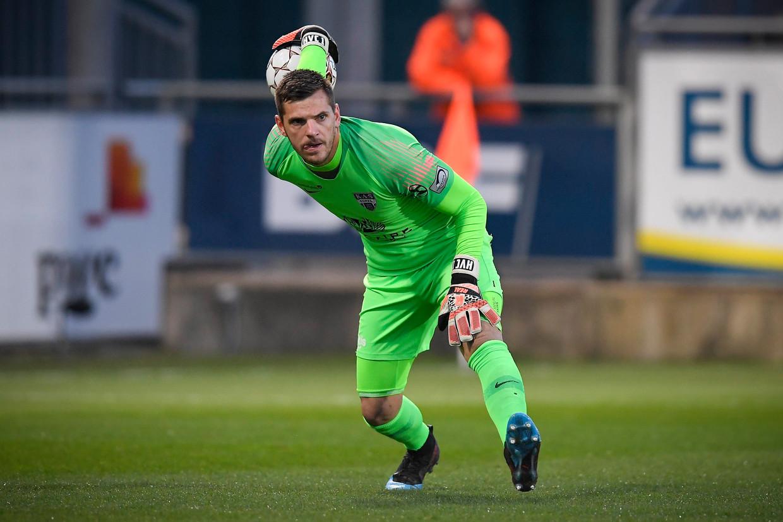 International Hendrik Van Crombrugge speelt mogelijk zondag al mee met Anderlecht in Moeskroen. Beeld Photo News