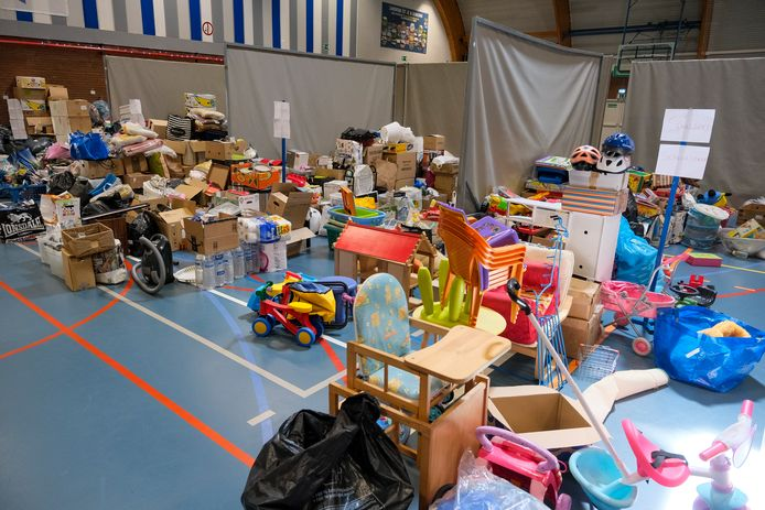 inzameling hulpgoederen in Zaventem