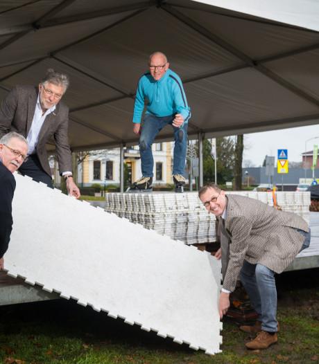 Grotere ijsbaan geeft meer reuring in Heerde