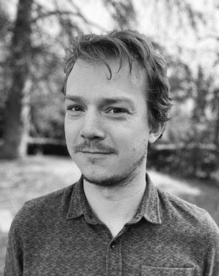 David de Boer doet een postdoc aan de UvA, gespecialiseerd in de Nederlandse Republiek  en vroegmoderne vluchtelingenproblematiek. Beeld -