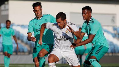 Real Madrid houdt generale repetitie: Eden Hazard lijkt helemaal klaar voor herstart