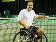 Voor rolstoeltennisser Tom Egberink uit Hardenberg lonkt de paralympische finale