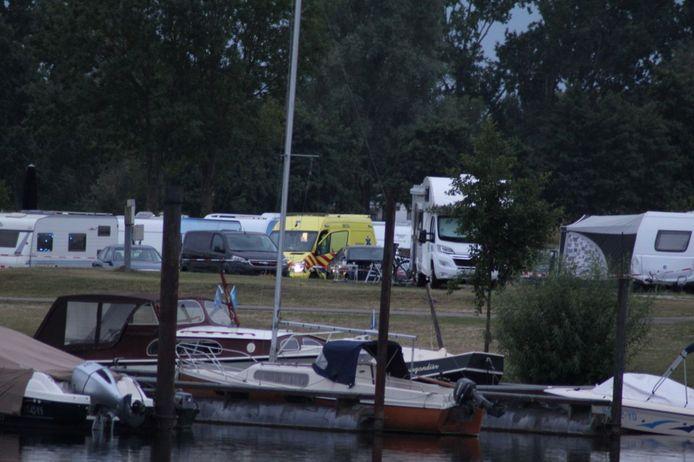 Camping Groene Eiland in Appeltern.