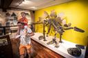Dino's in Natura Docet. De expositie belooft een groot succes te worden.