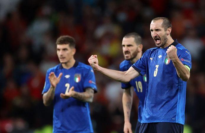 Sept ans après avoir perdu la finale de l'Euro 2012 contre l'Espagne, Giorgio Chiellini rêve d'enfin atteindre la consécration avec sa sélection.