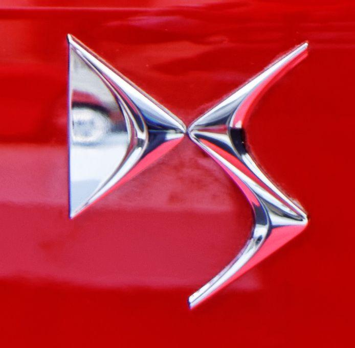 DS logo van Citroën.