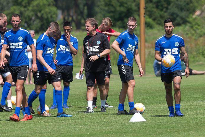 De eerste training van De Graafschap in het seizoen 2019-2020.