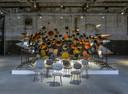 Werk Maarten Baas op de tentoonstelling New Icons - Rietveld now in De Kazerne, Eindhoven.
