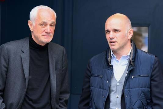 Antonio Percassi met zijn zoon Luca, de clubdirecteur die ook het technische beleid van de club vormgeeft.