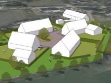 Plan voor vier nieuwe woningen in buitengebied van Gerwen