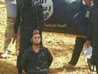"""IS-strijders onthoofden Libanese militair"""
