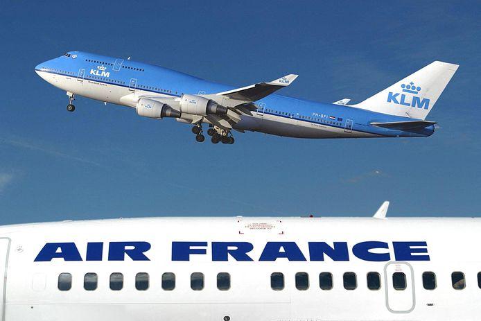 Een Boeing 747 van KLM. de maatschappij zette vorig jaar alle Jumbo's definitief aan de kant