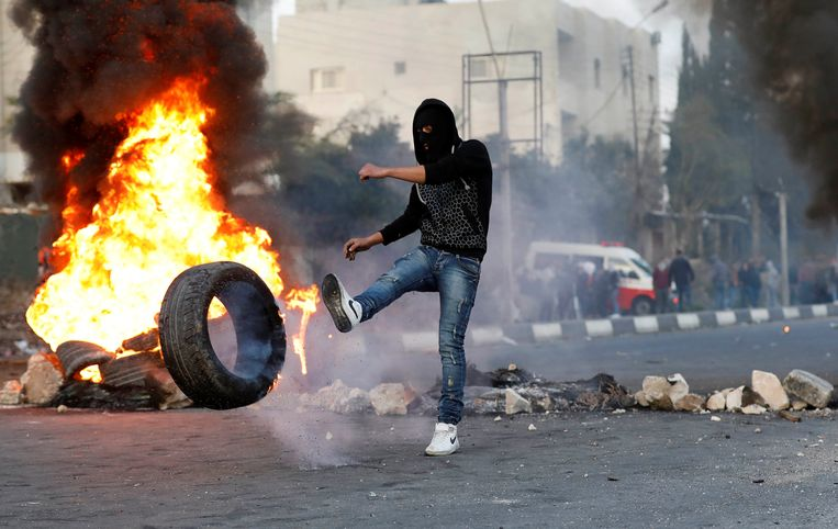 U.S. President Donald Trump's decision to recognize Jerusalem as the capital of Israel resulted in clashes and riots. Beeld REUTERS