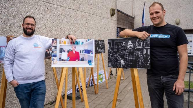 Fotografen Marijn en Niels brengen Hamse ondernemers in beeld