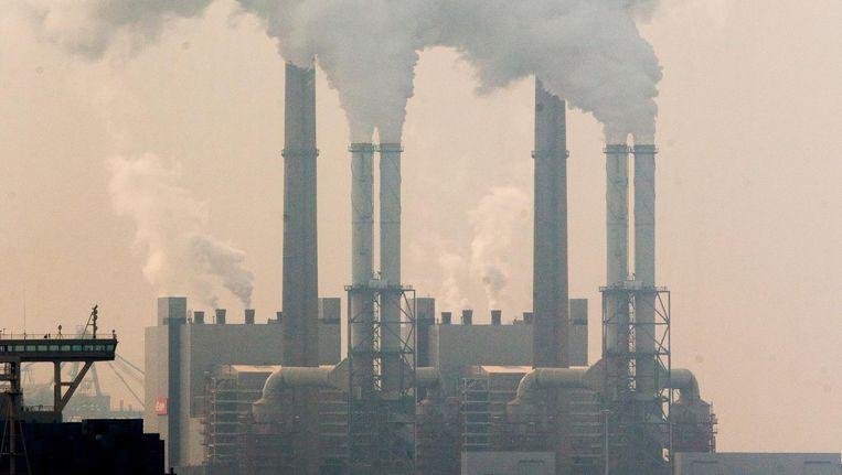 Een energiecentrale van EON in de Rotterdamse haven. Beeld anp