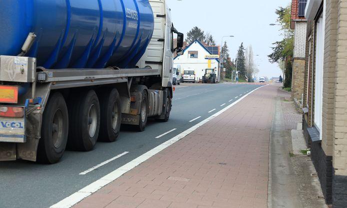 In Kuitaart is weinig ruimte voor verkeer