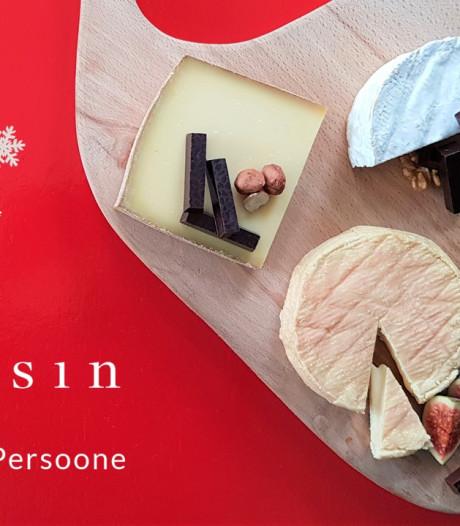 Chocolatier Dominique Persoone creëert chocolade voor bij Cheesin-kazen