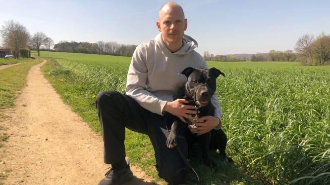 """Hondenbaasje Wannes waarschuwt voor vergiftigde brokken in buurt van Vlooybergtoren: """"Hondenvoer groeit nu eenmaal niet in gras"""""""