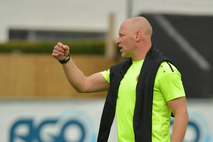 Trainer Christoph Van Elslande.