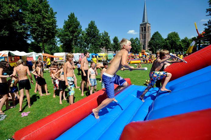 In 2012 was de Gildeweide in Diessen tijdens de kindervakantieweek omgedoopt in camping 'Plaza del Rio'.