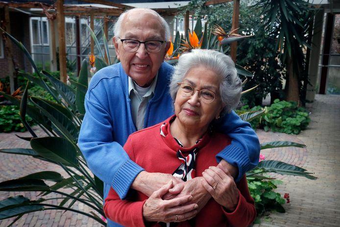 Corona of niet, er valt nog steeds zoveel moois te beleven, zeggen Jaap (102) en Jeanne Göbel (92) uit Gorinchem.