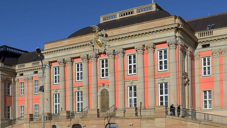 Het nieuwe parlementsgebouw in Potsdam, Duitsland. Beeld epa