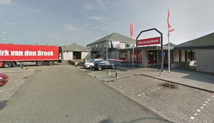 Winkelcentrum Beukenhof in Goes-Zuid.