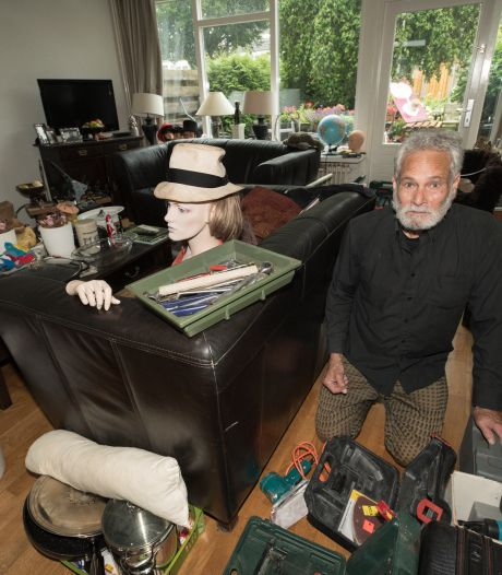 Spullen hergebruiken en andere mensen blij maken:  Gene Gout uit Borne is van alle markten thuis
