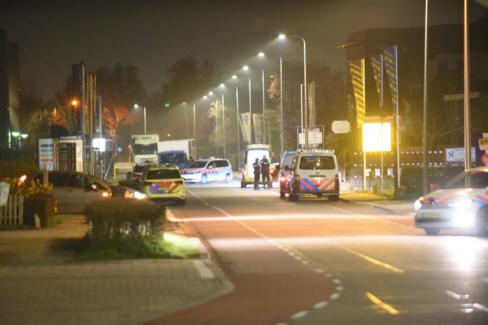 De Strijkviertel is afgesloten voor verkeer.