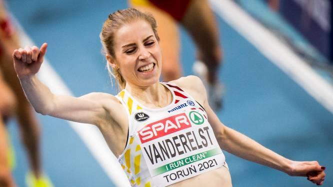 Elise Vanderelst verpulvert 19 jaar oud Belgisch record op 1.500m en plaatst zich voor Tokio