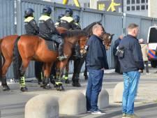 NAC wil hooligans 'keihard straffen', politie doet aangifte