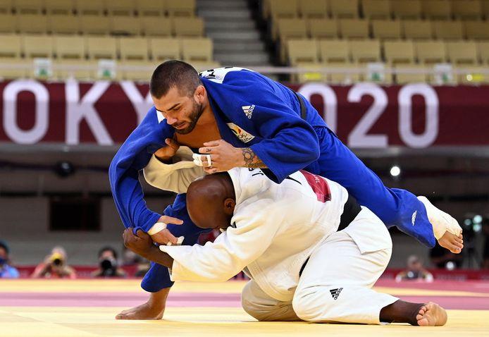 Un ippon après 15 secondes: Jorge Fonseca n'a laissé aucune chance à Toma Nikiforov au deuxième tour du tournoi olympique.
