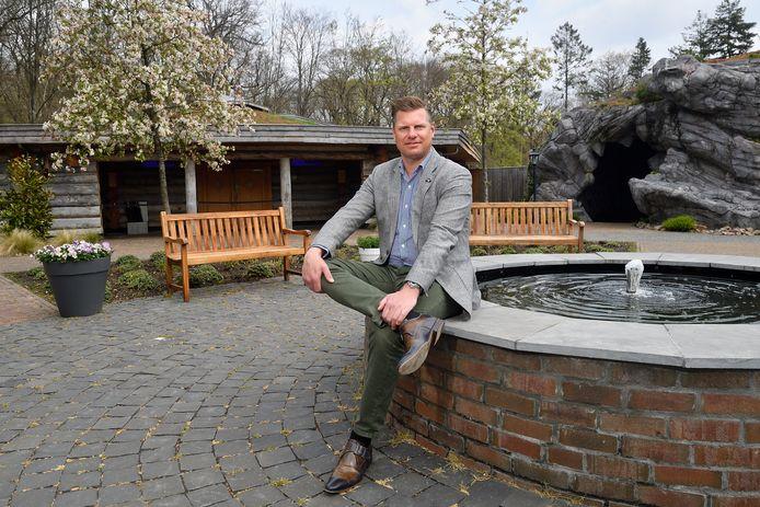 Fabian Dolman, algemeen directeur van vier Thermen Wellnessresorts die vallen onder Quality Wellnessresorts