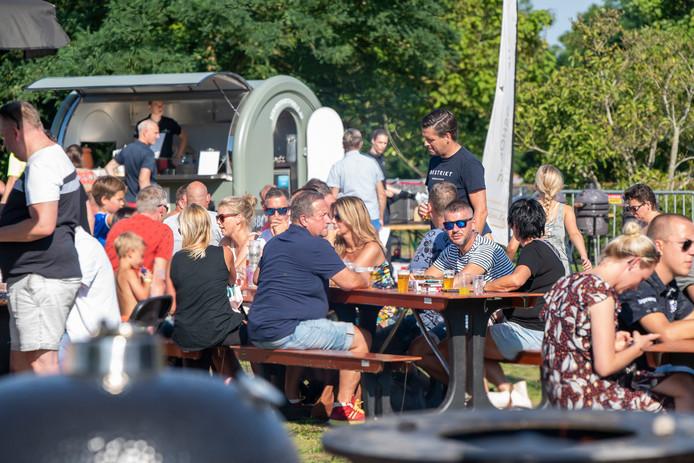 Voor het eerst was er een Foodplein, tot volle tevredenheid van de bezoekers.