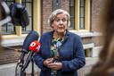 Demissionair minister Ank Bijleveld (CDA)