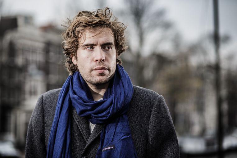 Daan Heerma van Voss in Amsterdam. Beeld Bob Van Mol