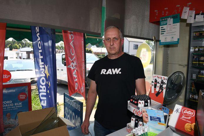 Inbraak in 't Nieuwspunt bij Paul Van der Auwera in Keerbergen.