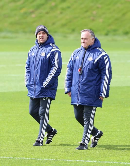 Zeljko Petrovic en Dick Advocaat.