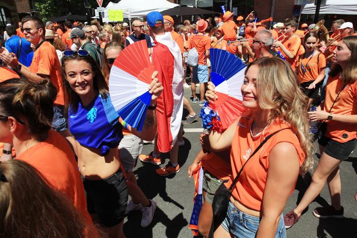 Supporters in Frankrijk