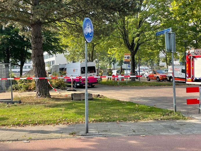 Meerdere straten in Enschede zijn woensdagochtend afgezet wegens een gaslek.