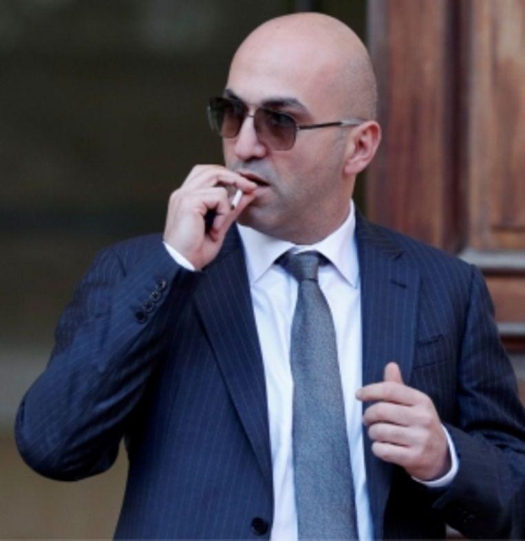 'Zakenman Yorgen Fenech werd aangehouden terwijl hij Malta per boot probeerde te ontvluchten. De aanklacht: medeplichtigheid aan moord.' Beeld
