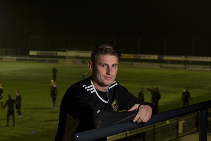 """Joost Mulder hoopt op betere tijden met FC Winterswijk. """"Het maakt me niet meer uit hoe, maar er moeten punten komen."""""""