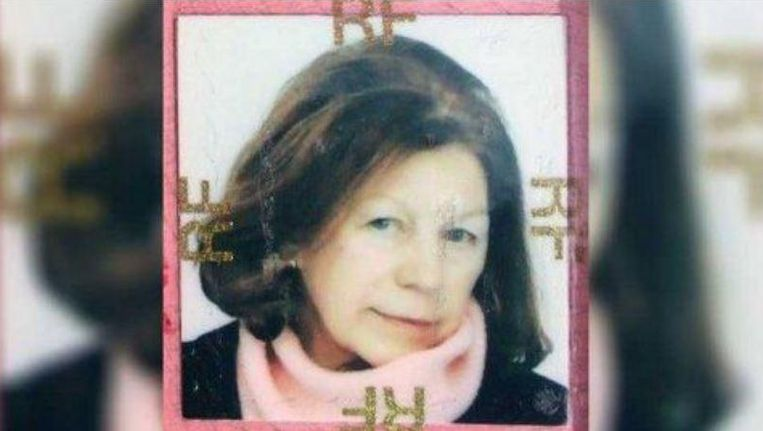 De opsporingsfoto van Ildiko Peers de Nieuwburgh die de Franse politie gebruikte om haar terug te vinden. Beeld kos