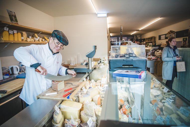 De wereldkampioen kaas is ook van de partij.