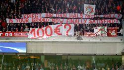 "Bayern-fans smijten vals geld op grasmat in het Astridpark: ""Is jullie hebzucht nu eindelijk voldaan?"""